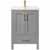 Vinnova Bath Vanity 24'' Gray Display Display No Mirror