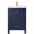 Vinnova Bath Vanity 24'' Royal Blue Display No Mirror
