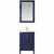 Vinnova Bath Vanity 24'' Royal Blue Display Display