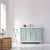 Vinnova Bath Vanity 48'' Finnish Green No Mirror Lifestyle