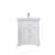 Vinnova Bath Vanity 30'' White No Mirror Display