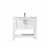 Vinnova Bath Vanity 36'' White No Mirror Display