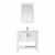 Vinnova Bath Vanity 36'' White Display