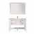 Vinnova Bath Vanity 48'' White Display