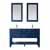 Vinnova Bath Vanity 60'' Jewelry Blue Display