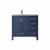 Vinnova Bath Vanity 36'' Royal Blue No Mirror Display