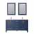 Vinnova Bath Vanity 60'' Royal Blue Display