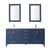 Vinnova Bath Vanity 72'' Royal Blue Display