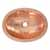Polished Copper - Top View
