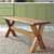 Trestle Bench - Lifestyle View 1