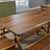 Dining Table, 2 Benches & 2 Chairs - View 2