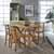 Dining Table & 4 Stools - Full View