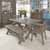 5-Piece Set - Dining Table, 2 Benches, 2 Chairs