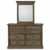 Dresser & Mirror - Front View