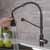 Matte Black/Black Stainless Steel - Faucet Close Up 2
