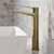 Brushed Gold - Faucet Close Up 1