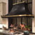 Amore Design Factory Flare Ceiling Mounted Island Range Hood