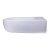 """28"""" White D-Bowl Bath Sink View - 2"""