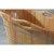 Natural Wood Bathtub Handle View