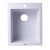 "Alfi brand White 17"" Drop-In Rectangular Granite Composite Kitchen Prep Sink, 16-1/8"" W x 19-7/8"" D x 8-1/4"" H"