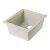 """Alfi brand Biscuit 17"""" Undermount Rectangular Granite Composite Kitchen Prep Sink, 16-1/8"""" W x 17"""" D x 8-1/4"""" H"""