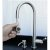 """Alfi brand Solid Brushed Stainless Steel Single Hole Pull Down Kitchen Faucet, 16-7/8"""" H"""