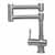 Brushed S/Steel Retractable Faucet