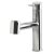 """Alfi brand Polished Stainless Steel Kitchen Faucet /w Pull-Out Spray, 9-1/8"""" H"""