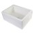 """Alfi brand 24"""" Biscuit Smooth Thick Wall Fireclay Single Bowl Farm Sink, 23-5/8"""" W x 18"""" D x 10"""" H"""