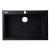 "Alfi brand Black 30"" Drop-In Single Bowl Granite Composite Kitchen Sink, 29-7/8"" W x 19-7/8"" D x 8-1/4"" H"