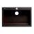 "ALFI brand 30"" Drop-In Single Bowl Granite Composite Kitchen Sink in Chocolate, 29-7/8"" W x 19-7/8"" D x 8-1/4"" H"