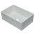 """Alfi brand 30"""" White Reversible Single Fireclay Farmhouse Kitchen Sink, 29-3/4"""" W x 20-7/8"""" D x 9-7/8"""" H"""
