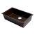 "ALFI brand 30"" Undermount Single Bowl Granite Composite Kitchen Sink in Chocolate, 29-7/8"" W x 17-1/8"" D x 8-1/4"" H"