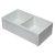 "Alfi brand 33"" White Reversible Double Fireclay Farmhouse Kitchen Sink, 32-5/8"" W x 17-7/8"" D x 9-7/8"" H"