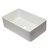 """Alfi brand 33"""" White Reversible Single Fireclay Farmhouse Kitchen Sink, 32-5/8"""" W x 20-7/8"""" D x 9-7/8"""" H"""