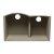 "Alfi brand Biscuit 33"" Double Bowl Undermount Granite Composite Kitchen Sink, 33"" W x 20-3/4"" D x 9-7/8"" H"