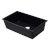 "Alfi brand Black 33"" Single Bowl Undermount Granite Composite Kitchen Sink, 33"" W x 19-3/8"" D x 9-1/2"" H"