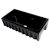 """36"""" Black Gloss Smooth / Fluted Fireclay Farm Sink"""