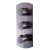 "Alfi brand Brushed Nickel Round 2 Way Thermostatic Shower Mixer, 5-5/16"" W x 12-1/2"" D x 3"" H"