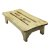 """Alfi brand 24'' Wooden Stool for your Wooden Tub, 24"""" W x 12"""" D x 6"""" H"""