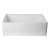 "Alfi brand White 30"" Contemporary Smooth Apron Fireclay Farmhouse Kitchen Sink, 29-7/8"" W x 19-3/4"" D x 10"" H"