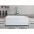 """32"""" White Fluted Apron Product View - 4"""