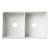 """32"""" White Smooth Apron Product View - 2"""