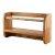 "Alfi brand 18"" Wall Mounted Wooden Shelf & Hooks Bathroom Accessory, 17-3/4"" W x 10"" D x 4"" H"