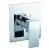 "Alfi brand Polished Chrome Modern Square Pressure Balanced Shower Mixer, 5-3/4"" W x 6-5/16"" D x 3-1/2"" H"