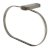 Brushed Nickel Towel Ring