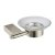 Brushed Nickel Soap Dish