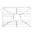"Alfi brand Stainless Steel Kitchen Sink Grid for AB2418SB, AB2418ARCH, AB2418UM, 20"" W x 13-3/8"" D x 1"" H"
