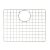 """ALFI brand GrId For AB2420DI and AB2420Um in Brushed Stainless Steel, 16-3/4"""" W x 12"""" D x 1"""" H"""