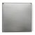 "12""x12"" Polished Stainless Steel Back View"